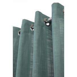 Tenda Infini verde salvia anelli 140x280 cm