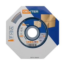 Disco diamantato con corona continua continuo DEXTER Ø 125 mm