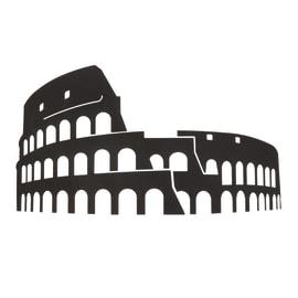 Decorazione da parete Colosseo Metal 48x28 cm