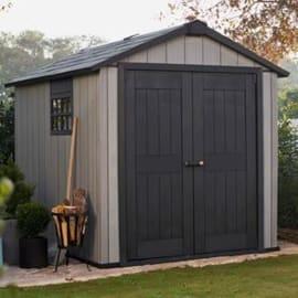 Casetta da giardino in polipropilene Oakland 7511 KETER 6.51 m² spessore 20 mm