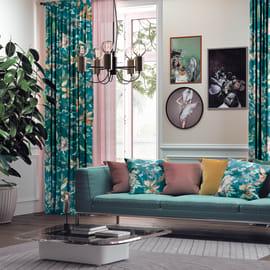 Cuscino Melisse verde 40x40 cm