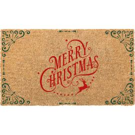 Zerbino Natale in cocco beige