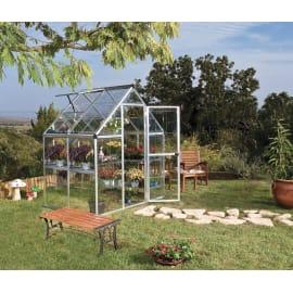 Serra da giardino VERDEMAX Doritis Mini L 185 x H 209 x P 122 cm