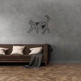 Decorazione da parete Gatto Nero 40x43 cm