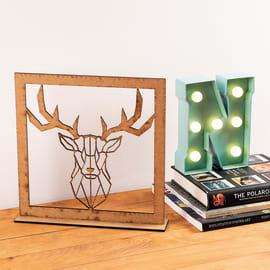 Pannello decorativo Cervo 30x30 cm