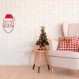 Pannello decorativo Babbo Natale 25x40 cm