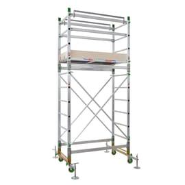 Trabattello in alluminio per lavori fino a 4.4 m