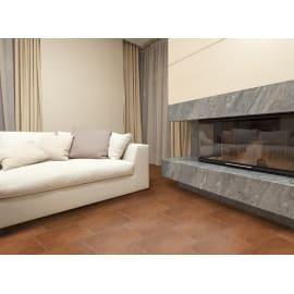 Piastrella Abbazie Terracotta H 33 x L 50 cm PEI 3/5 marrone