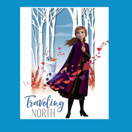 Poster Frozen II Travelling North 61x91.5 cm