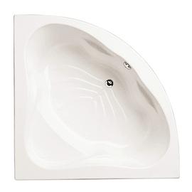Vasca angolare Rute acrilico bianco 137 x 137 cm