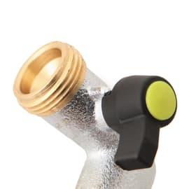 Adattatore di rubinetto Femmina / maschio in ottone cromato COLORTAP   2 vie