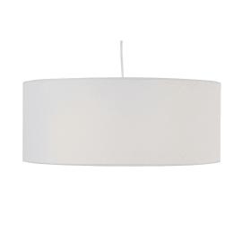 Lampadario Sitia bianco, in tessuto, diam. 48 cm, E27 3xMAX60W IP20 INSPIRE