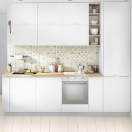 Cucina in kit DELINIA sofia bianco L 255 cm