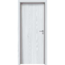 Porta a battente Siberian bianco L 80 x H 210 cm reversibile