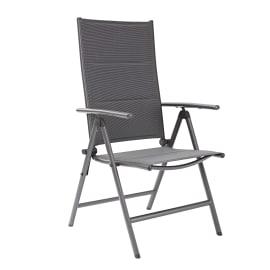 Sedia pieghevole in alluminio NATERIAL colore marrone