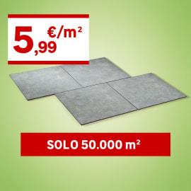 Piastrella Iuta H 61 x L 61 cm PEI 4/5 grigio