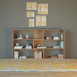 Libreria Twinny 4 ripiani L 158 x P 30 x H 90 cm legno