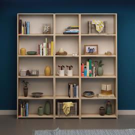 Libreria Clarita 5 ripiani L 150 x P 20 x H 169 cm