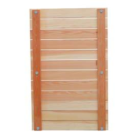 Pedana per doccia Larice Lusso in legno larice miele 108 x 68 cm