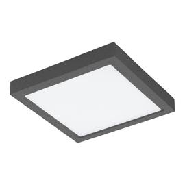 Plafoniera Argolis LED integrato in alluminio, antracite, 22W 2600LM IP44 EGLO