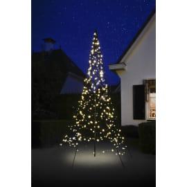 Albero luminoso 360 lampadine bianco caldo H 300 cm