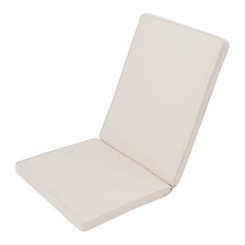 Cuscino monoblocco ecrù 95x4 cm