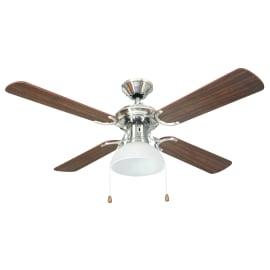 Ventilatore da soffitto Maiorca ciliegio/faggio, in alluminio diam. 106cm, INSPIRE