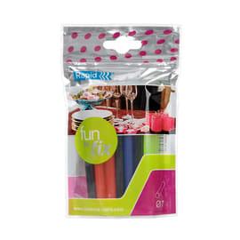 Stick di colla a caldo RAPID Fun to Fix colori assortiti Ø 7 mm 70 g
