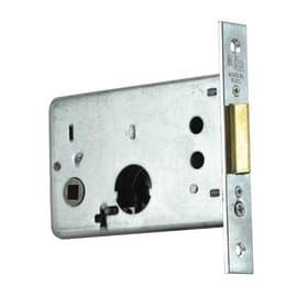 Serratura a incasso cilindro per cancello o rete, entrata 6.5 cm, interasse 43 mm, sinistra<multisep/>destra