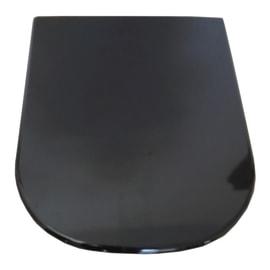 Copriwater rettangolare Tuttoevo nero