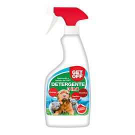 Spray repellente per cani e gatti liquido Get Off detergente 3 in1 500