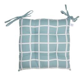 Cuscino per seduta azzurro 40x40 cm