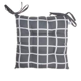 Cuscino per seduta antracite 40x40 cm