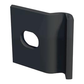 Piastra di montaggio in acciaio galvanizzato plastificato L 3,2 x H 1 cm