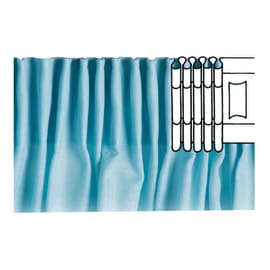 Nastro arricciatura automatica a pieghe continue trasparente 3 cm x 6 m
