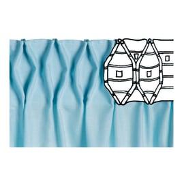 Nastro ad arricciatura automatica trasparente 8 cm x 3.6 m