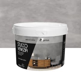 Pittura ad effetto decorativo 8 kg grigio ferro effetto cemento