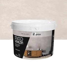 Pittura ad effetto decorativo 8 kg marrone tortora effetto cemento