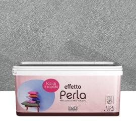 Pittura decorativa RMD DECORAZIONE Perla 1.5 l grgio zinco madreperla