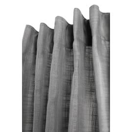Tenda Infini slide antracite fettuccia con passanti nascosti 140x280 cm