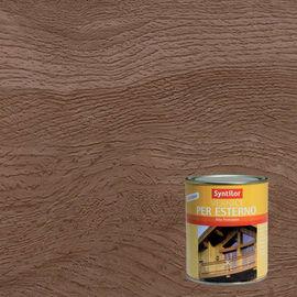 Vernice per legno da esterno liquido SYNTILOR 0.25 L noce scuro lucido