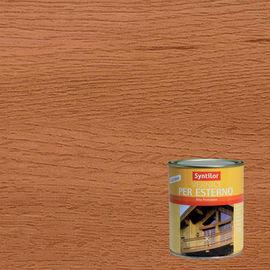 Vernice per legno da esterno liquido SYNTILOR 0.25 L teak lucido