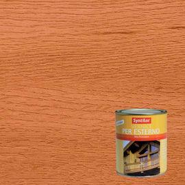 Vernice per legno da esterno liquido SYNTILOR 0.25 L ciliegio lucido