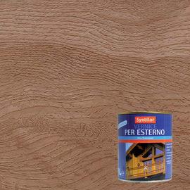 Vernice per legno da esterno liquido SYNTILOR 1 L noce medio satinato