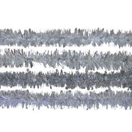 Ghirlanda grigio / argento L 200 x H 8 cm , Ø 8 cm