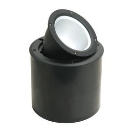 Faretto da incasso da esterno in alluminio , nero, diam. 27.5 cm 27.5x44cm E27 IP67 INSPIRE