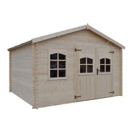 Casetta da giardino in legno Galati 14 m² spessore 28 mm