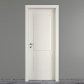 Porta a battente Ipanema bianco L 80 x H 210 cm destra