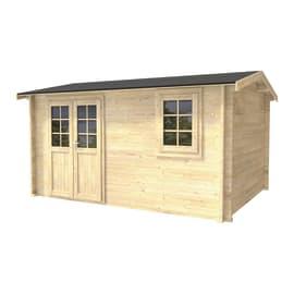 Casetta da giardino in legno Giusy 10.71 m² spessore 45 mm