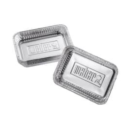 Piatti multifunzione WEBER Vaschette per barbecue a gas (10 pezzi)  pezzi